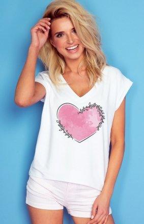 *Oversizowa bluzka Knits serce K368