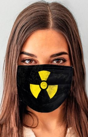 Maseczka ochronna reaktor