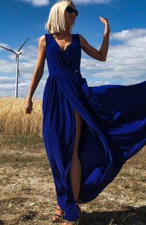 *Ivon Rebeca sukienka niebieska