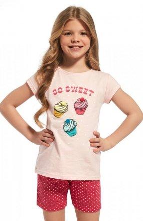 Piżama Cornette Kids Girl 253/63 Sweet kr/r 86-128
