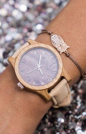 Drewniany damski zegarek Classic 38MM N080