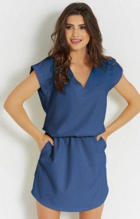 Letnia sukienka niebieska 278 Lena