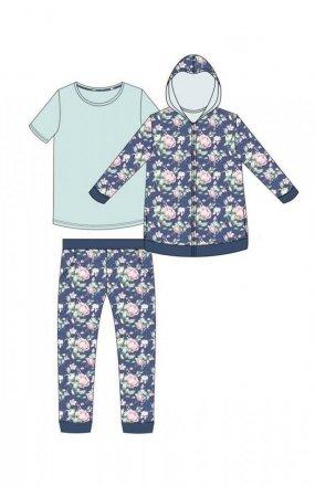 Cornette 355/291 Julie piżama trzyczęściowa