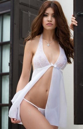 Softline Irina komplet biały