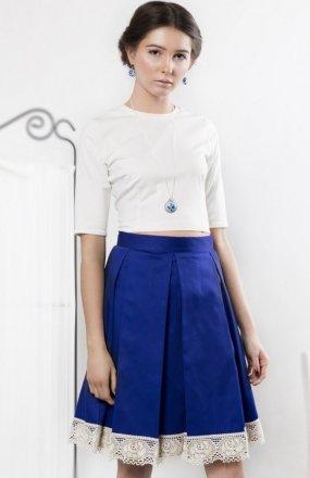Kasia Miciak design kontrafałdy spódnica
