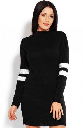 PeekaBoo 70011 tunika sweterkowa czarna
