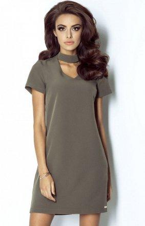 *Ivon 204 Elena sukienka khaki