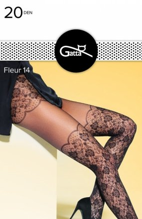 Gatta Fleur wz.14 rajstopy