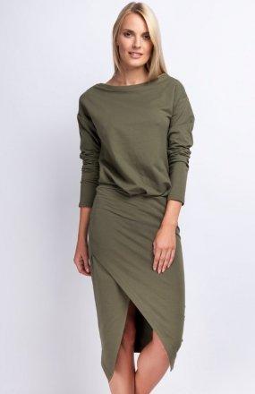 Nommo NA177 sukienka khaki