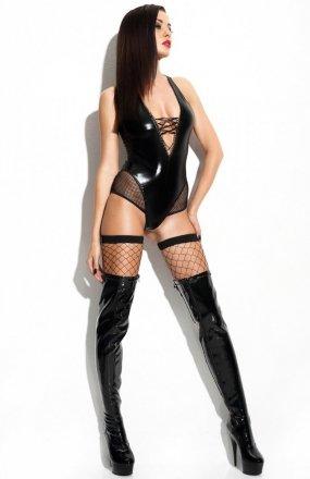 *Claudia Premium body i pończochy Demoniq