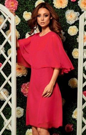 *Lemoniade L261 sukienka malinowa