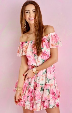 Letnia sukienka hiszpanka 0335/U49