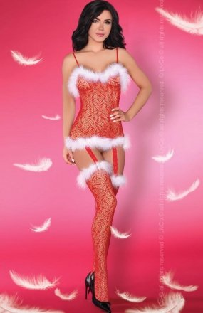 Livia Corsetti Catriona Christmas bodystocking