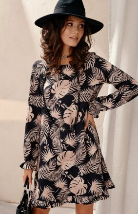 Kobieca sukienka babydoll 0340 F99
