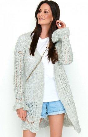 Ażurowy sweter S49