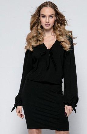 *FIMFI I244 sukienka czarna