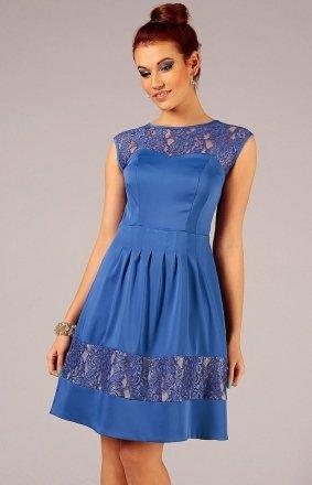 Vera Fashion Chiara sukienka chabrowa
