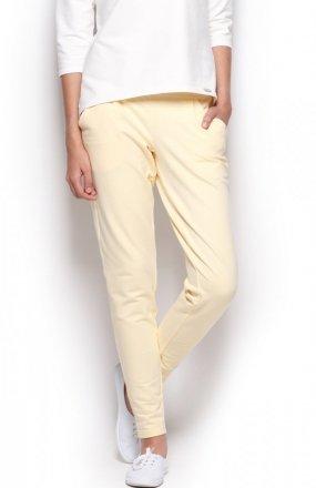 Figl  M305 spodnie żółte