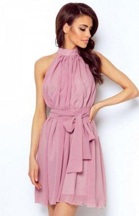 Ivon Livia sukienka wrzosowa
