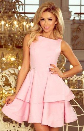 Numoco 169-5 Cristina sukienka pastelowy róż