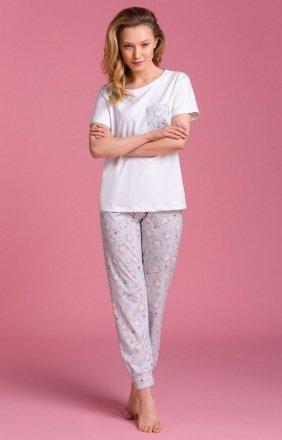 Bawełniana piżama damska PY134