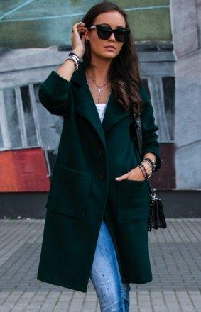 Elegancki płaszcz alpaka P011