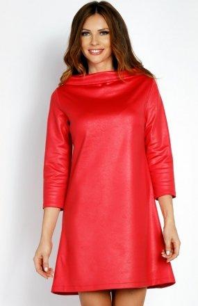LOU LOU L006 sukienka różowa