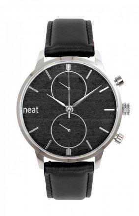 Skórzany męski zegarek 42MM N154