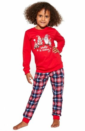 Cornette Young Girl 592/147 Gnomes piżama dziecięca