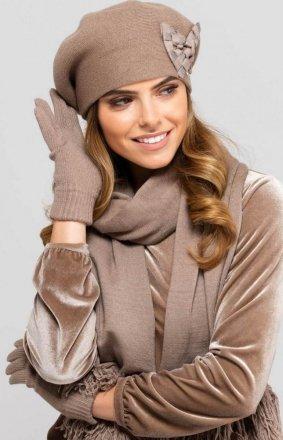 Kamea Almeria beret z kokardą