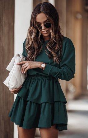 Dresowa spódniczka i bluza Larisa