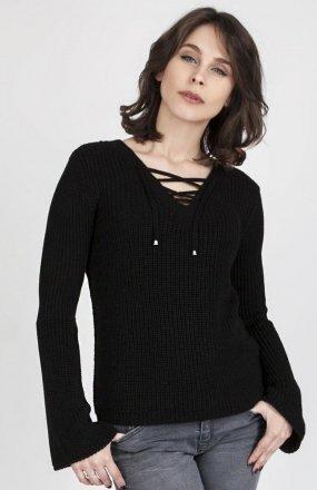 MKMSwetry Sweter Kylie SWE 117 Czarny