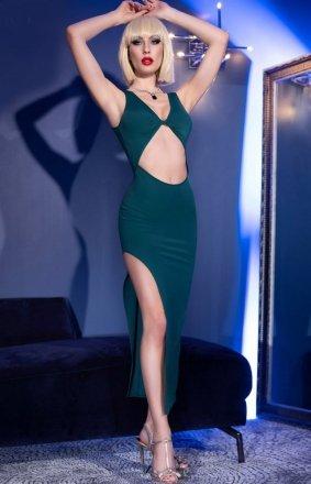 Seksowna dopasowana sukienka 4445