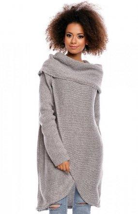 PeekaBoo 30051 sweter jasny szary