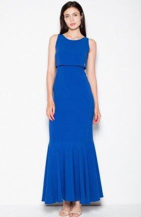 Venaton VT090 sukienka chabrowa