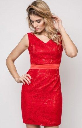 Vera Fashion Vanda sukienka czerwona