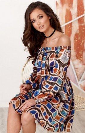 *Sukienka letnia hiszpanka 0288 S22