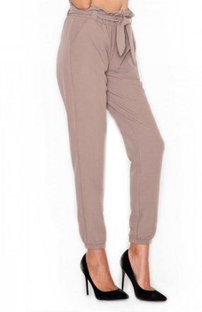 Katrus K296 spodnie mocca