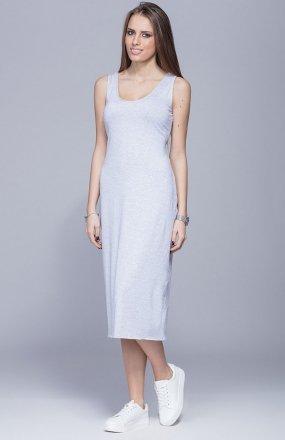 Harmony H026 sukienka szara