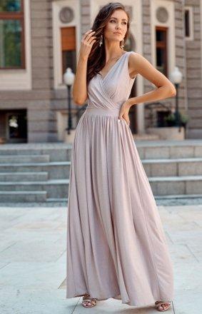 Wieczorowa sukienka maxi brokatowa 0224