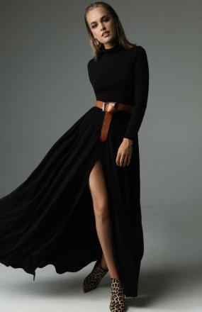 Madnezz Storm sukienka czarna