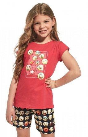 Piżama Cornette Young Girl 788/64 Emoticon kr/r 134-164