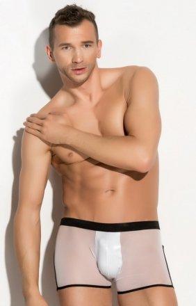 Erotyczne bokserki męskie białe Agustin