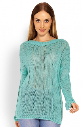 PeekaBoo 40007 sweter miętowy
