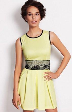 Vera Fashion Elodie sukienka limonka