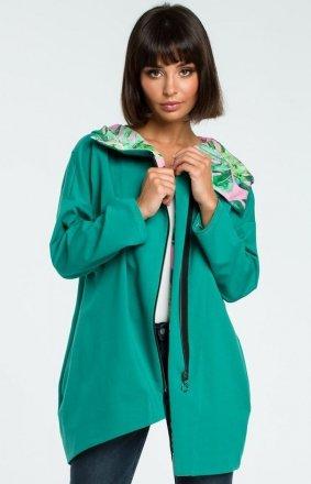 BE B091 bluza zielona