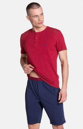 Henderson Dune 38879-33X piżama czerwono-granatowa