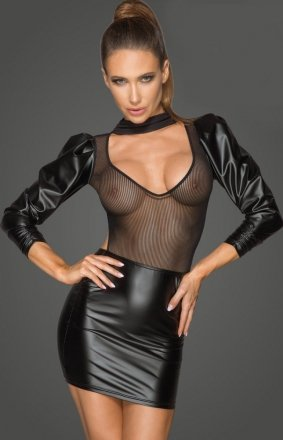 Sukienka erotyczna PCV F201