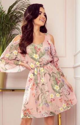 Letnia sukienka w kwiaty Marina Numoco 292-1