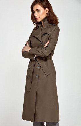 *Nife PL04 płaszcz khaki